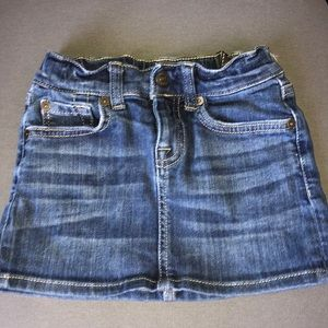 7 for all mankind jean skirt sz6
